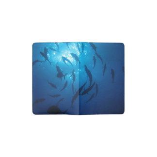 Sunlight Under the Sea Pocket Moleskine Notebook