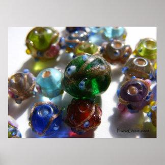 Sunlit Beads 6 Poster