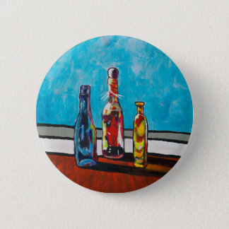 Sunlit Bottles 2 Inch Round Button