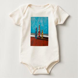 Sunlit Bottles Baby Bodysuit