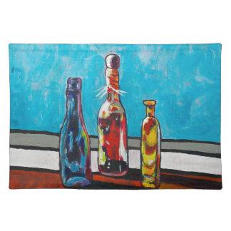 Sunlit Bottles Placemat