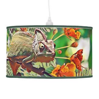 Sunlit Chameleon Pendant Lamp
