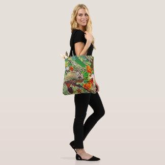 Sunlit Chameleon Tote Bag