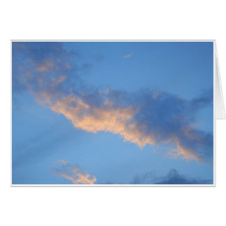 Sunlit Clouds Card