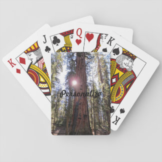 Sunlit Forest Playing Cards