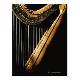 Sunlit Harp Postcard