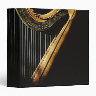 Sunlit Harp Vinyl Binders