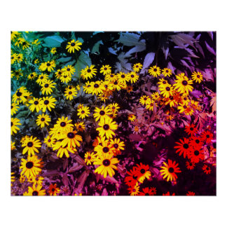 Sunlit Meadow Perfect Poster