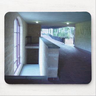 Sunlit On Stairwell In University Of Western Austr Mousepad