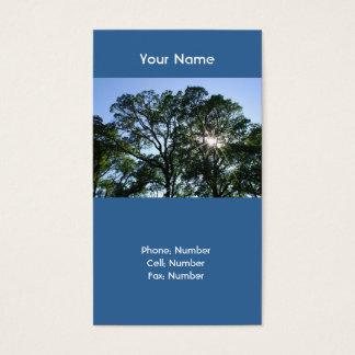 Sunlit Tree Business Cards