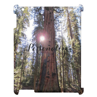 Sunlit Trees Ipad Case