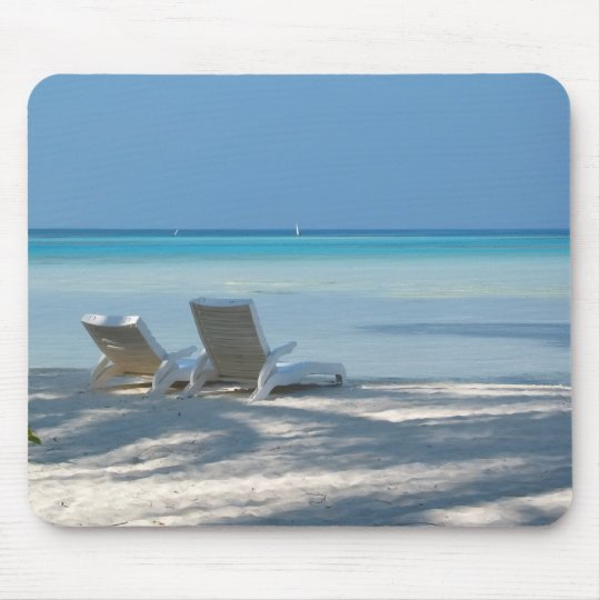 Sunloungers Mouse Pad