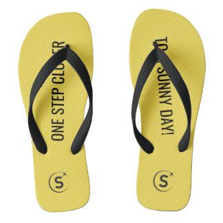 Sunmoney One Step Closer to a Sunny Day Flip-flops Flip Flops