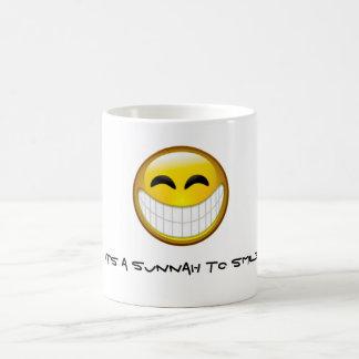 Sunnah to smile coffee mug
