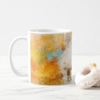 Sunny Abstract Painterly Mug