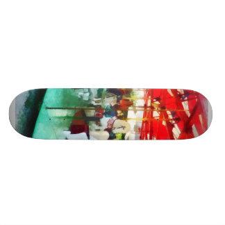Sunny Afternoon on the Carousel Skateboard Decks