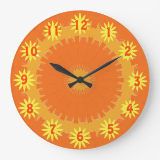 Sunny and Warmer Clock