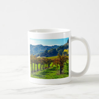 Sunny Autumn Vineyard Coffee Mug