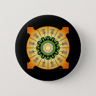 Sunny Baskets 2 Inch Round Button