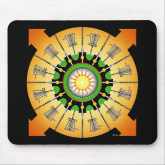 Sunny Baskets Mouse Pad