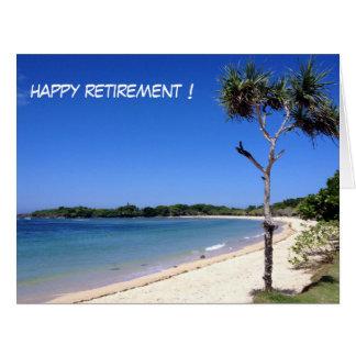 sunny beach retire big card