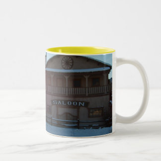 Sunny Breakthrough Two-Tone Coffee Mug