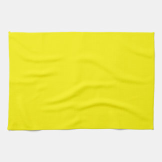 Sunny Bright Yellow Kitchen Towel