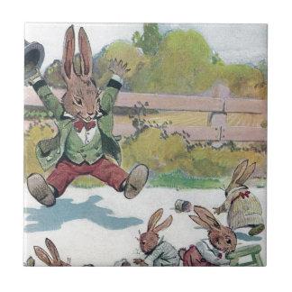 Sunny Bunny Shouts GO Tile