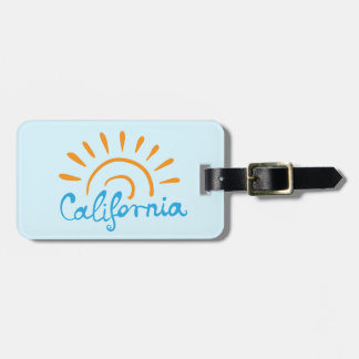Sunny California Logo Luggage Tag