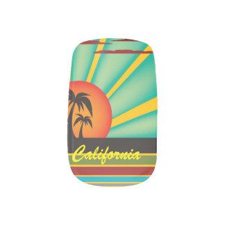 Sunny California Minx Nail Art