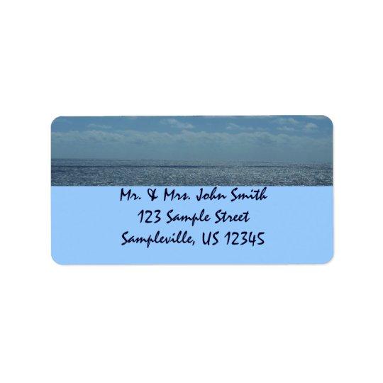 Sunny Caribbean Sea Blue Ocean