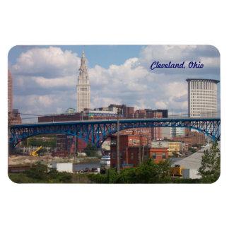 Sunny Cleveland Ohio Magnet