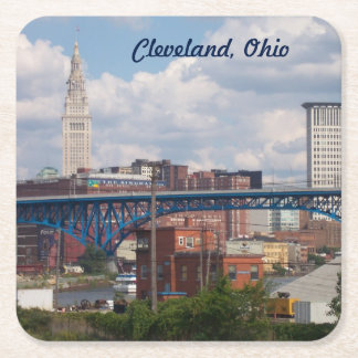 Sunny Cleveland Paper Coaster