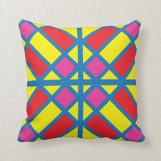 Sunny Colored Glass Tile Pillow
