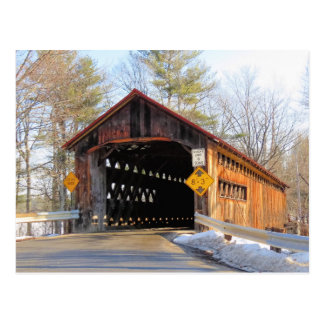 Sunny Coombs Covered Bridge Postcard