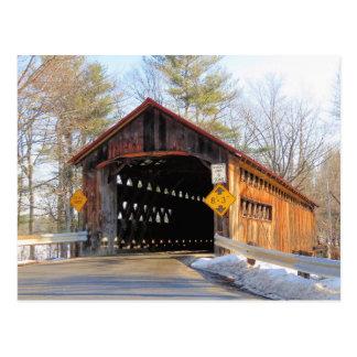Sunny Coombs Covered Bridge Postcard