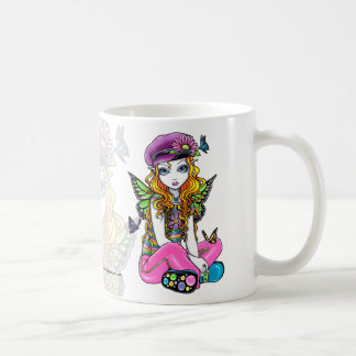 """""""Sunny"""" Cute Rainbow Butterfly Fairy Mug"""