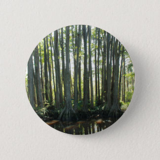 Sunny Cypress 2 Inch Round Button