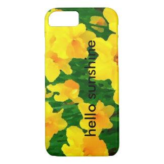 sunny daffodils iPhone 7 case
