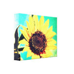 Sunny Day, A Sunflower Gallery Wrap Canvas