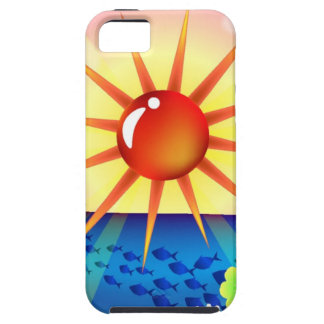Sunny Day and Sea iPhone 5 Covers