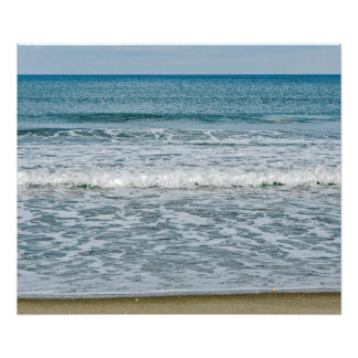 Sunny Day at the Atlantic Ocean in Florida Photo Print