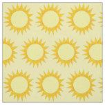 Sunny Day Beach Summer Sun Sunshine Suns Fabric