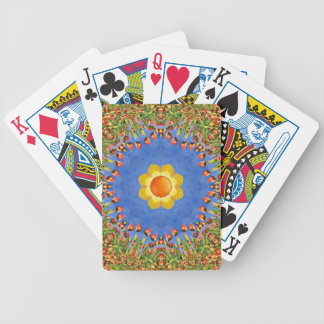 Sunny Day Colorful Bicycle® Playing Cards