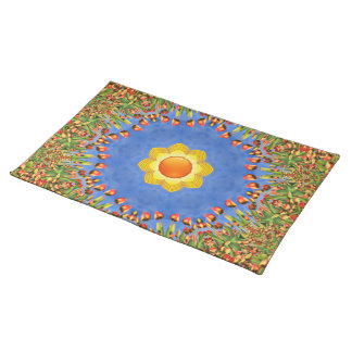 Sunny Day Colorful Cloth Placemats