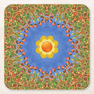 Sunny Day Colorful Coasters