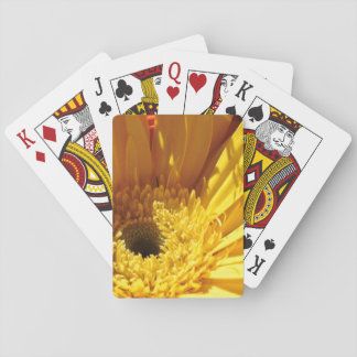 Sunny Day Daisy Playing Cards