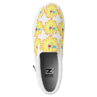 SUNNY DAY HAPPY FACES Slip-On SNEAKERS