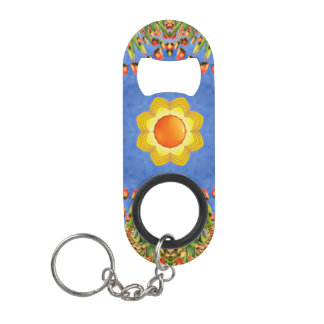 Sunny Day  Kaleidoscope   Bottle Openers, 3 styles Keychain Bottle Opener