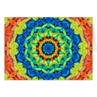 Sunny Day Kaleidoscope Card